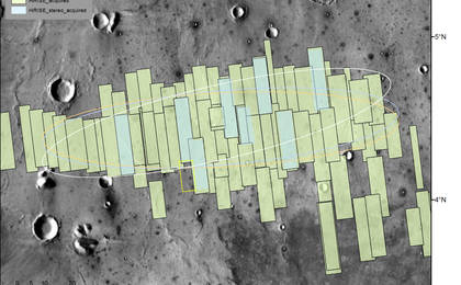 read the article 'Advance Inspection of NASA's Next Mars Landing Site'