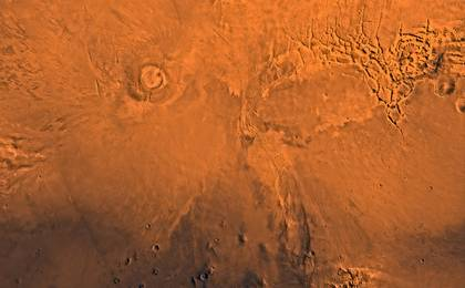 read the article 'Mars Volcano, Earth's Dinosaurs Went Extinct About the Same Time'