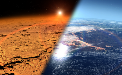 read the article 'NASA's MAVEN Reveals Most of Mars' Atmosphere Was Lost to Space'