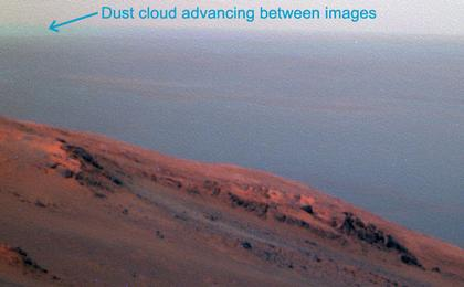 read the article 'Active Lifting During Martian Dust Storm'
