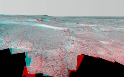 read the article 'Mars Rover Opportunity's Panorama of 'Rocheport' (Stereo)'