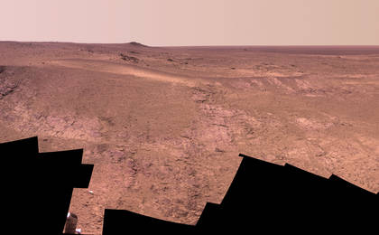 read the article 'Mars Rover Opportunity's Panorama of 'Rocheport''
