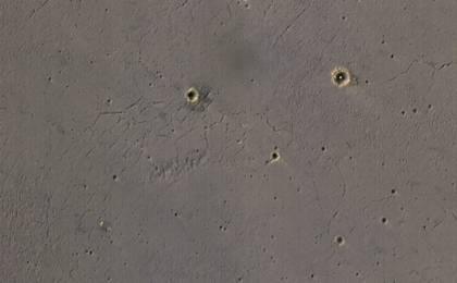 read the article 'Rover's Landing Hardware at Eagle Crater, Mars'