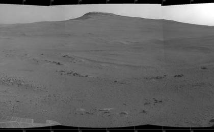 read the article 'Crater Rim and Plain at Head of 'Perseverance Valley,' Mars'