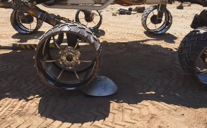 read the article 'An Algorithm Helps Protect Mars Curiosity's Wheels'