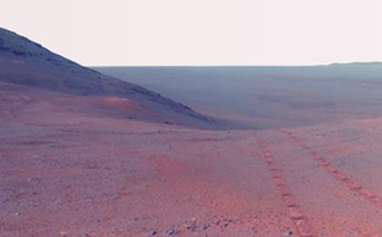 read the article 'Panorama Above 'Perseverance Valley' (Enhanced Color)'