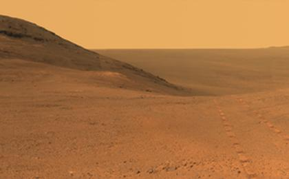 read the article 'From Mars Rover: Panorama Above 'Perseverance Valley''