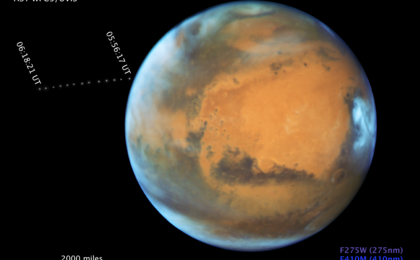 read the article 'Compass and Scale Image for Phobos and Mars'