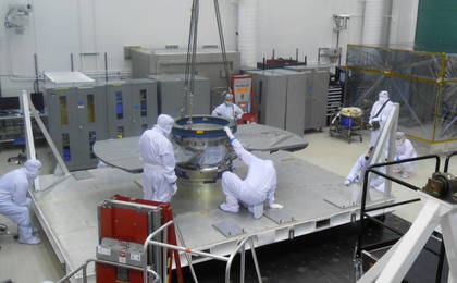 read the article 'Cruise Stage of NASA's InSight Spacecraft'