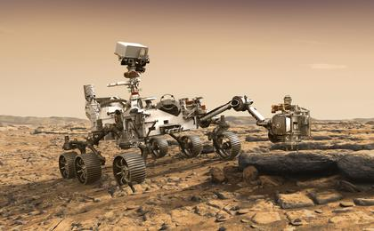 read the article 'NASA Builds its Next Mars Rover Mission'