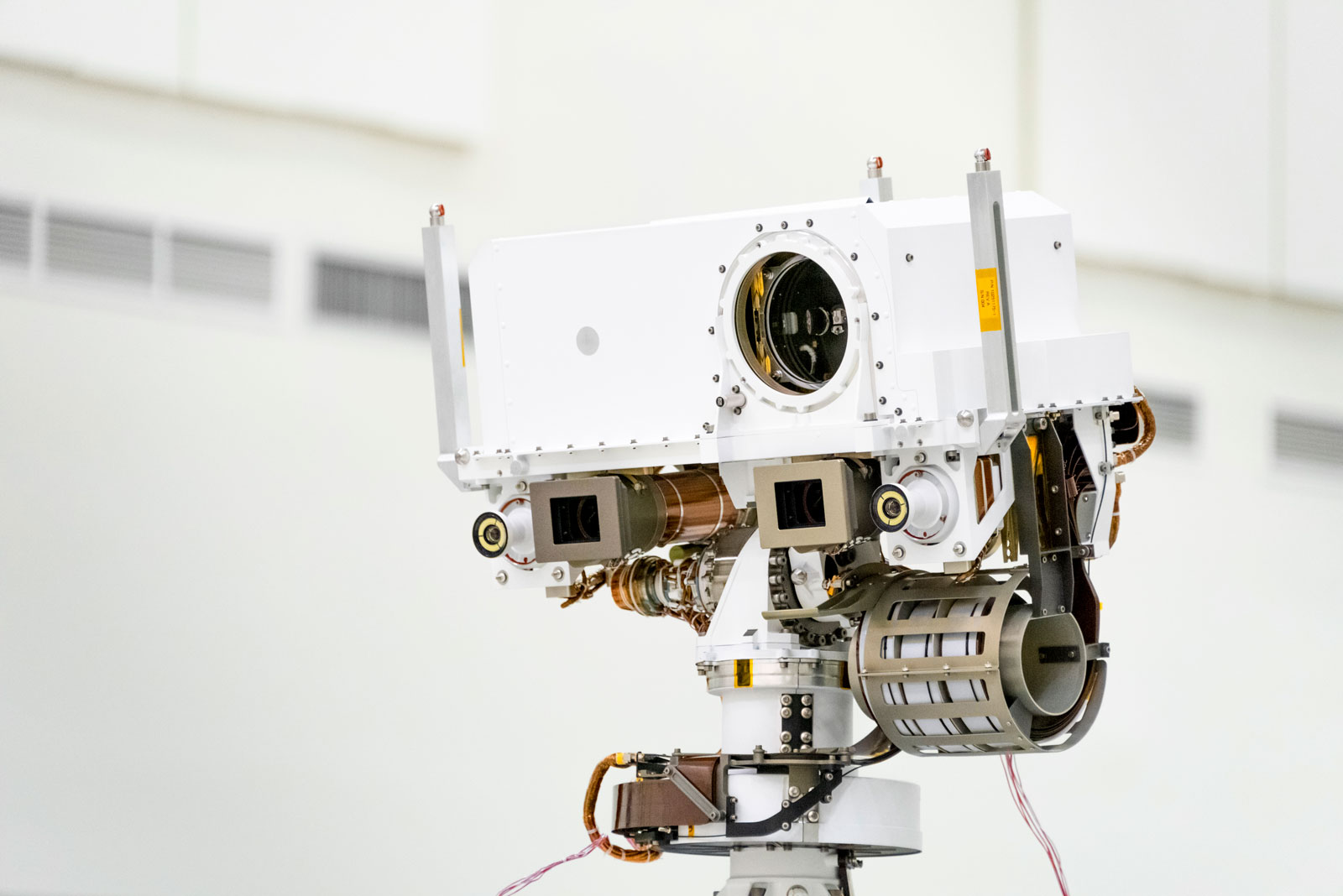 All About the Laser and Microphone Atop Mars 2020