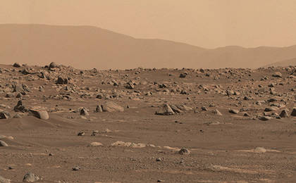 Perseverance's Mastcam-Z First High-Resolution Panorama