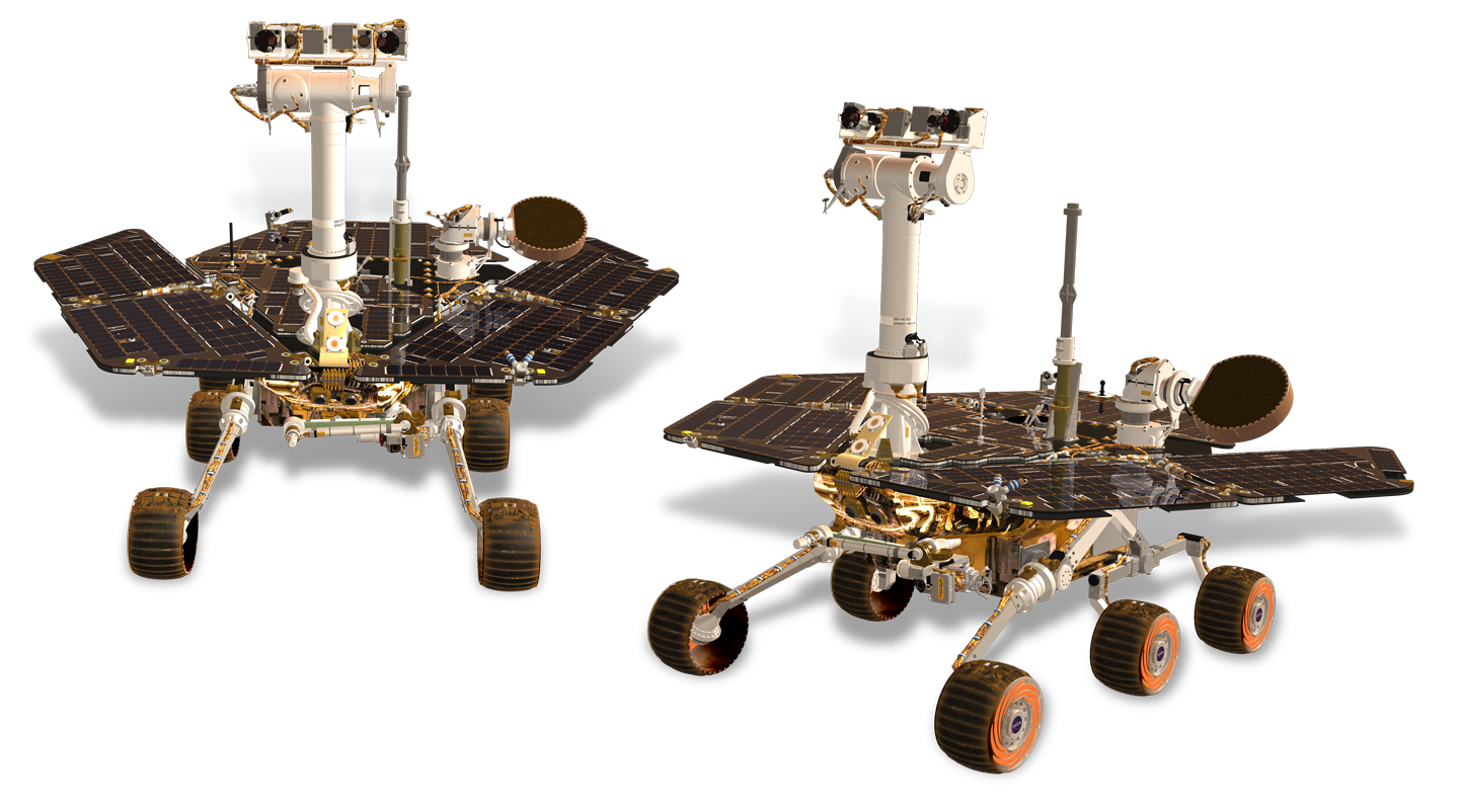 Mars Rovers Opportunity and Spirit