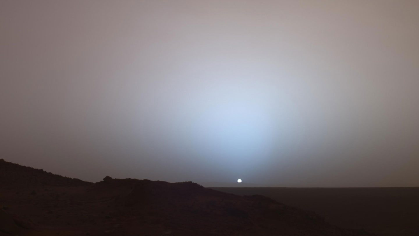 Image taken by NASA's Opportunity rover.