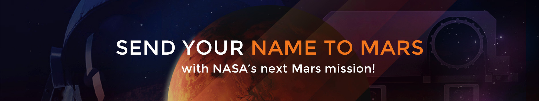 Send Your Name on Mars