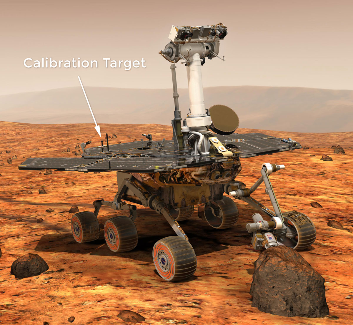 Image of Calibration Targets Artist Concept