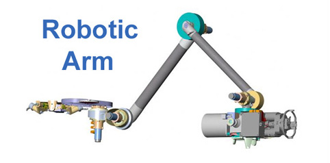 Rovers robotic arm