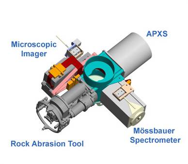 image of the four tools of the robotic arm
