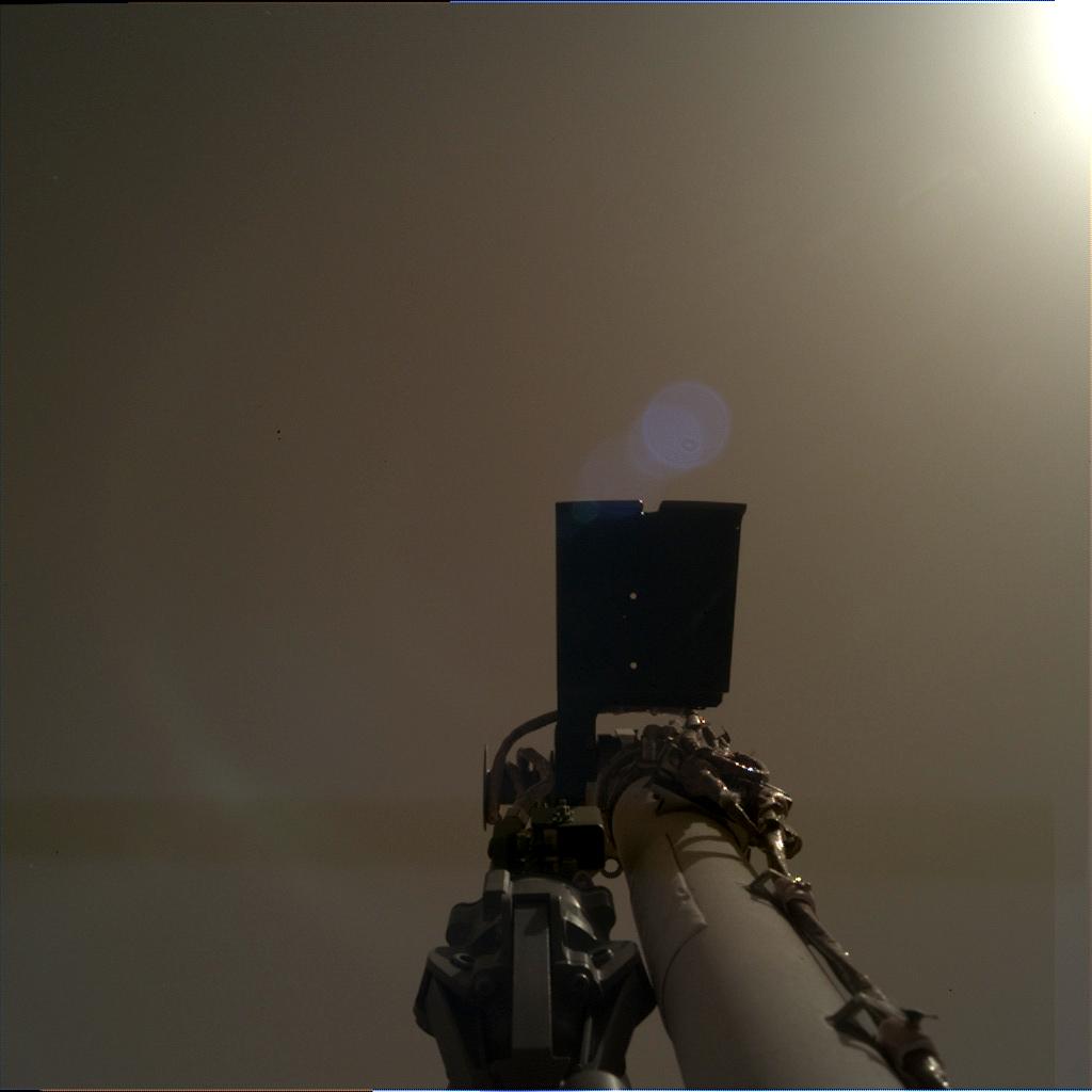 Atterisage de la sonde Marsienne Insight D000M0004_596887518EDR_F0000_0545M_