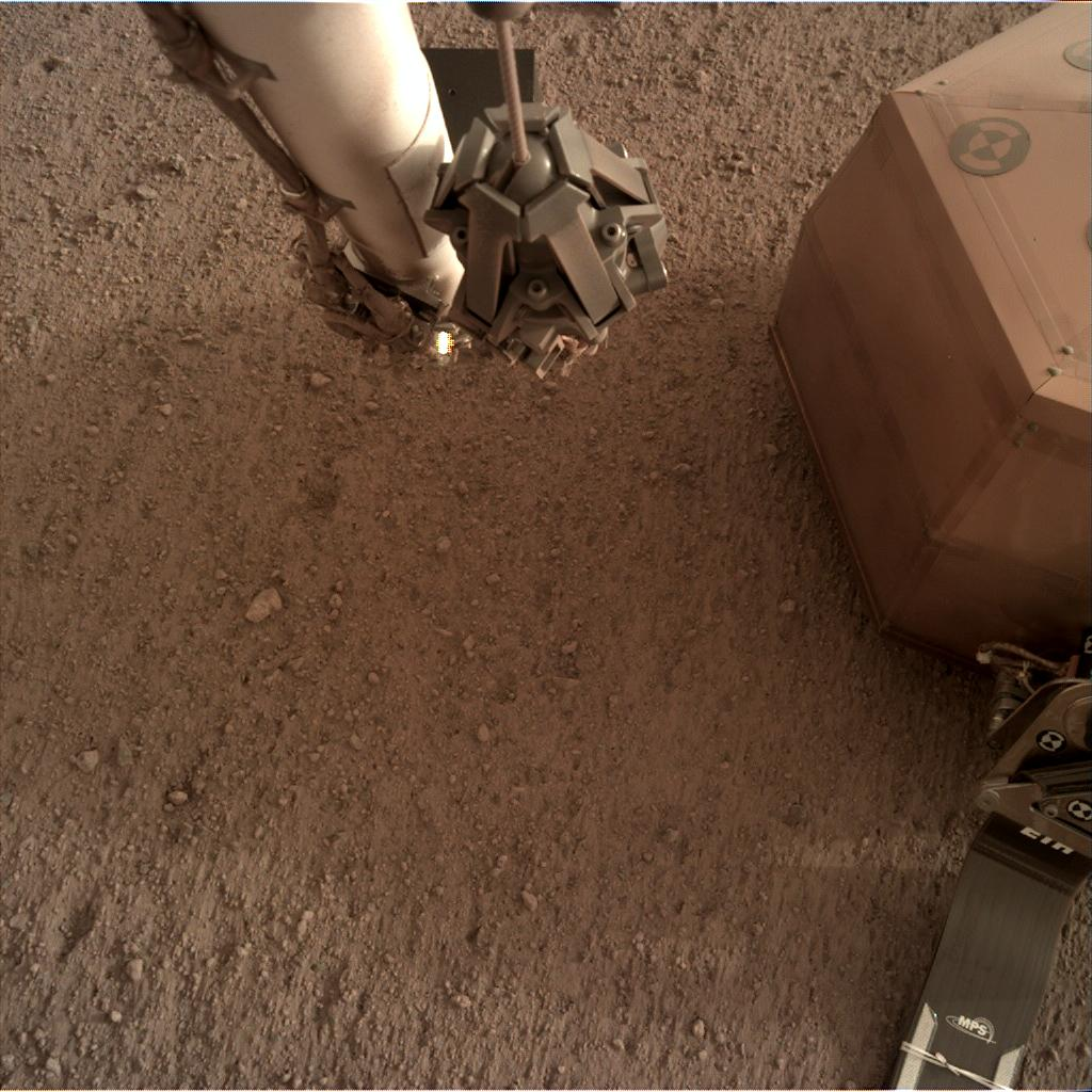 Nasa's Mars lander InSight acquired this image using its Instrument Deployment Camera on Sol 59