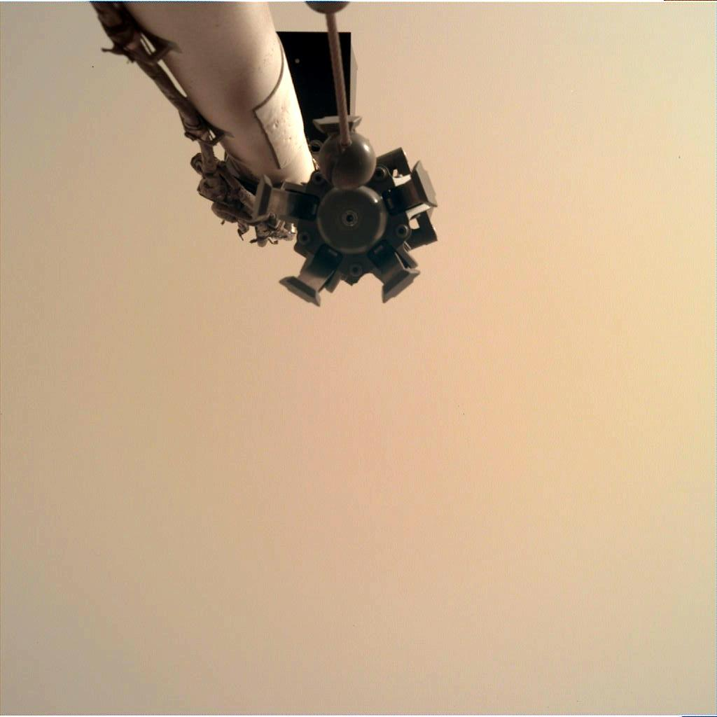 Nasa's Mars lander InSight acquired this image using its Instrument Deployment Camera on Sol 62