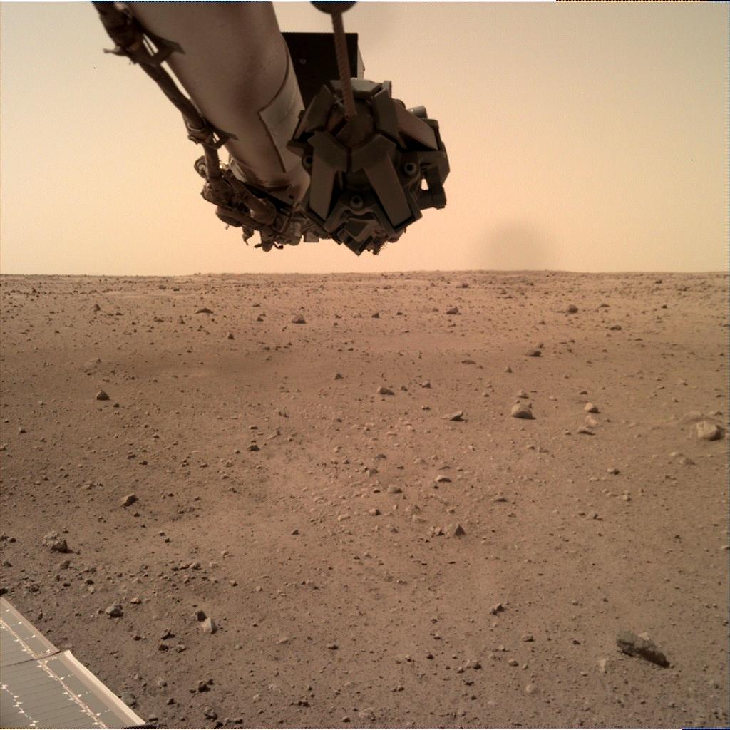 Sol 107: Instrument Deployment Camera (IDC) – NASA's InSight