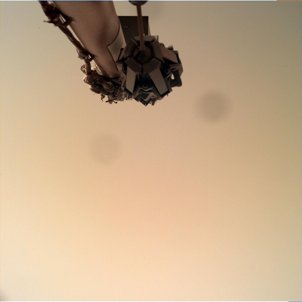 Nasa's Mars lander InSight acquired this image using its Instrument Deployment Camera on Sol 113