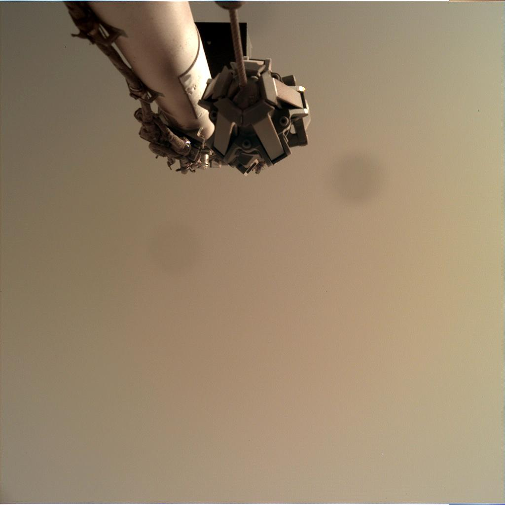 Nasa's Mars lander InSight acquired this image using its Instrument Deployment Camera on Sol 128