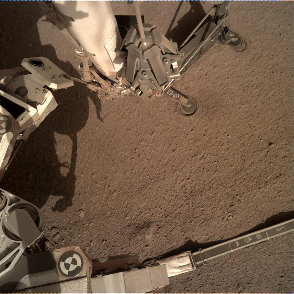 Nasa's Mars lander InSight acquired this image using its Instrument Deployment Camera on Sol 169
