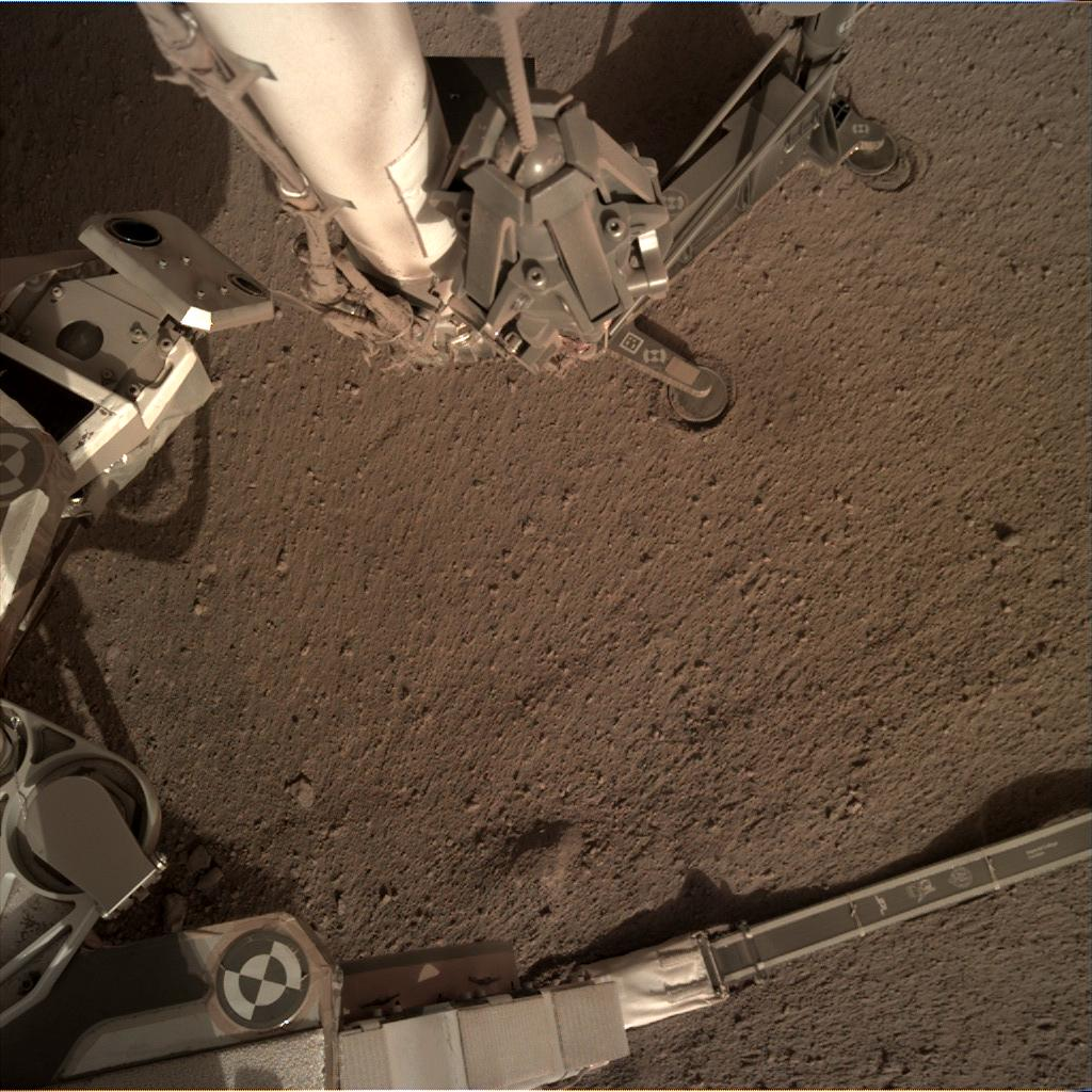 Nasa's Mars lander InSight acquired this image using its Instrument Deployment Camera on Sol 170