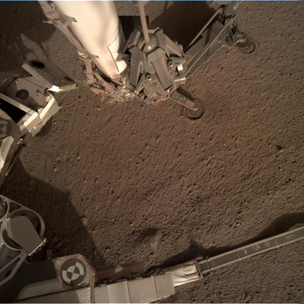 Nasa's Mars lander InSight acquired this image using its Instrument Deployment Camera on Sol 173