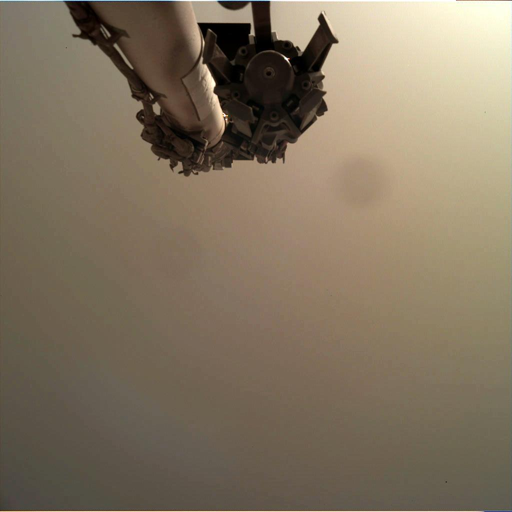 Nasa's Mars lander InSight acquired this image using its Instrument Deployment Camera on Sol 227