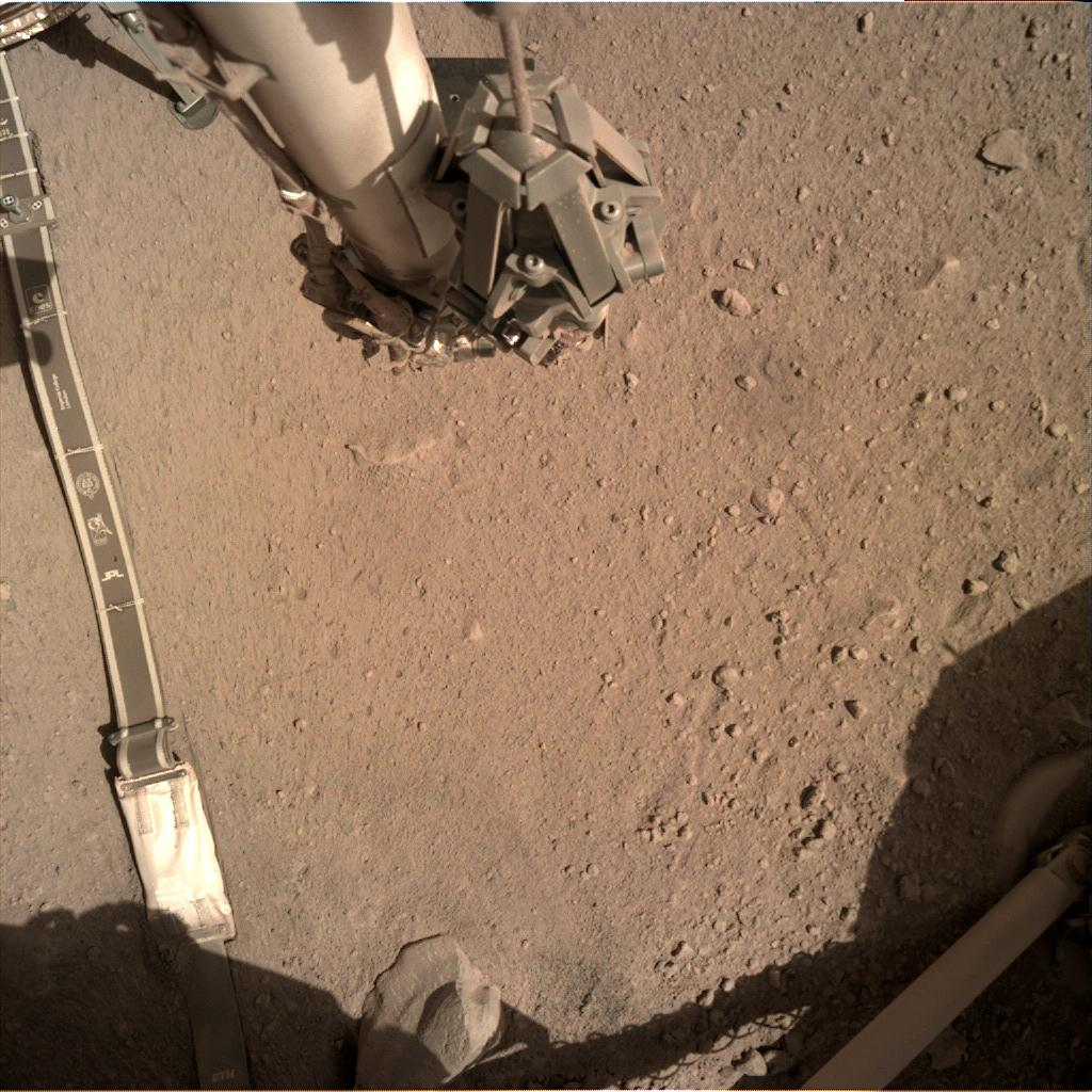 Nasa's Mars lander InSight acquired this image using its Instrument Deployment Camera on Sol 292
