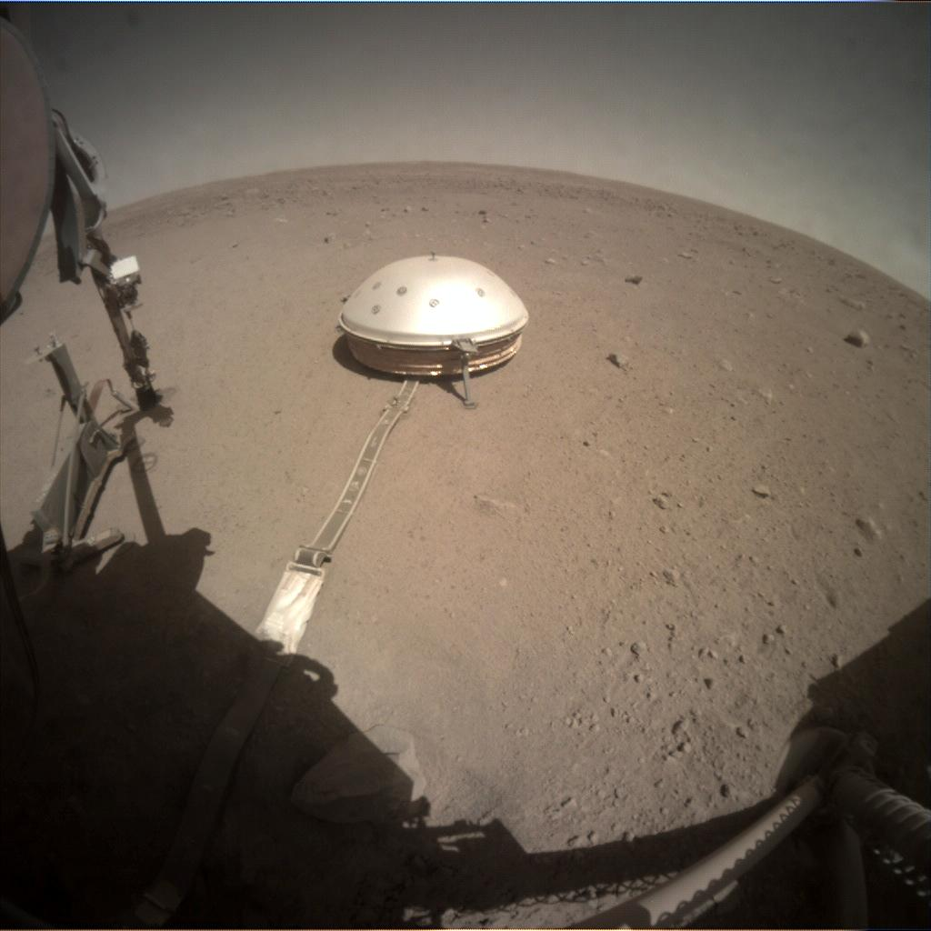 Nasa's Mars lander InSight acquired this image using its Instrument Context Camera on Sol 363