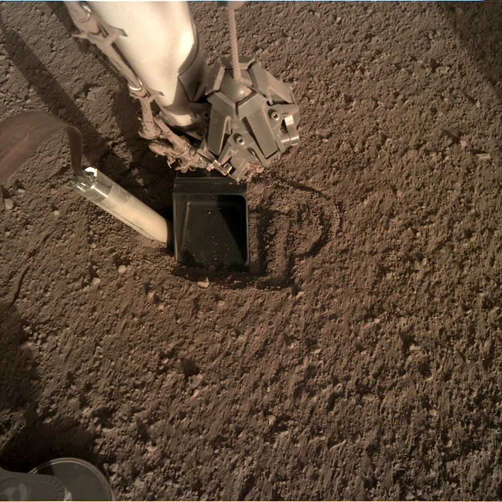 Nasa's Mars lander InSight acquired this image using its Instrument Deployment Camera on Sol 366