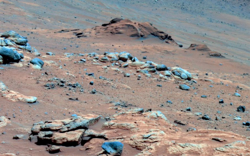 Lengthy detective work with data NASA's Mars Exploration Rover Spirit collected in late 2005 has confirmed that an outcrop called 'Comanche' contains a mineral indicating that a past environment was wet and non-acidic, possibly favorable to life.