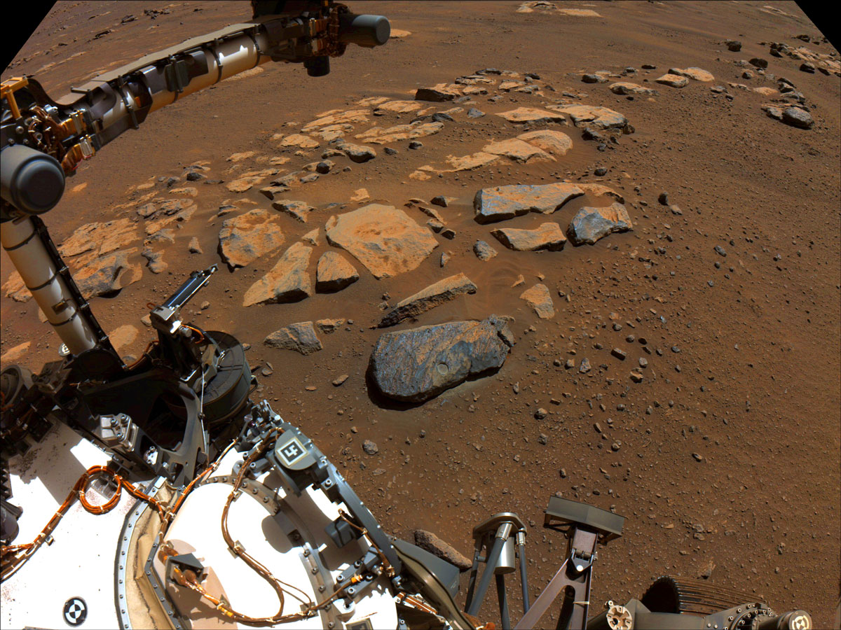 Read about, Threading a Needle on Mars