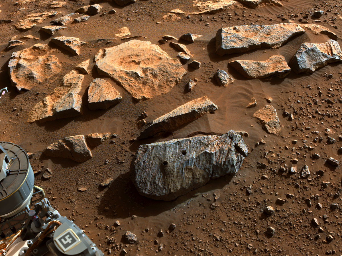 Read about, A Historic Moment – Perseverance Collects, Seals, and Stores its First Two Rock Samples