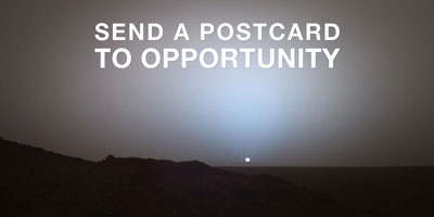 Send a Postcard to Opportunity
