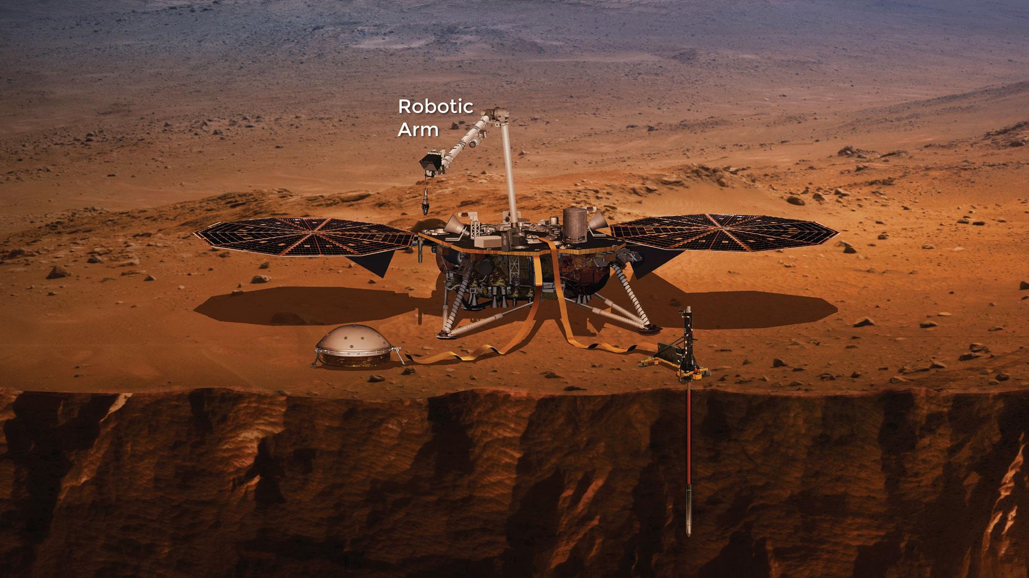About the Lander   Spacecraft – NASA's InSight Mars Lander
