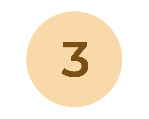 Circle with number 3