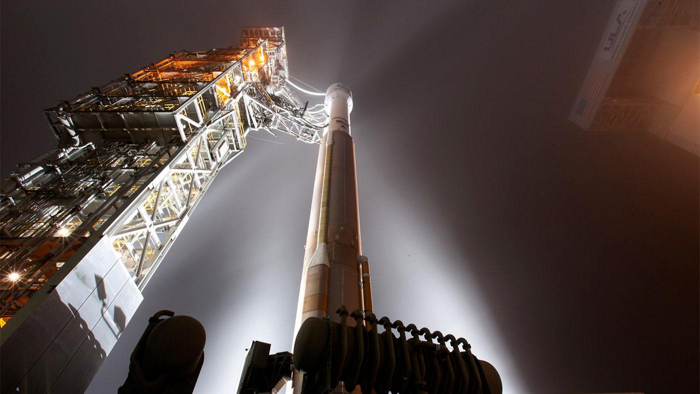 Razzo Atlas V che trasporta Mars InSight
