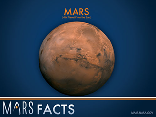 Mars facts graphic