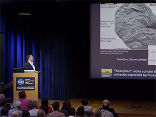 View Curiosity webcasts