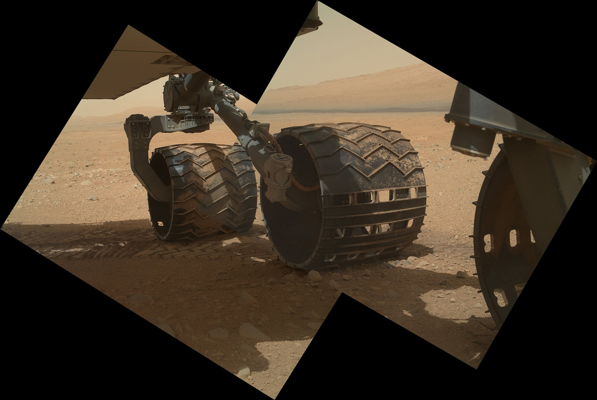 Curiosity Wheels