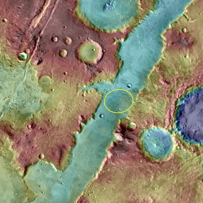 Nili Fossae Trough