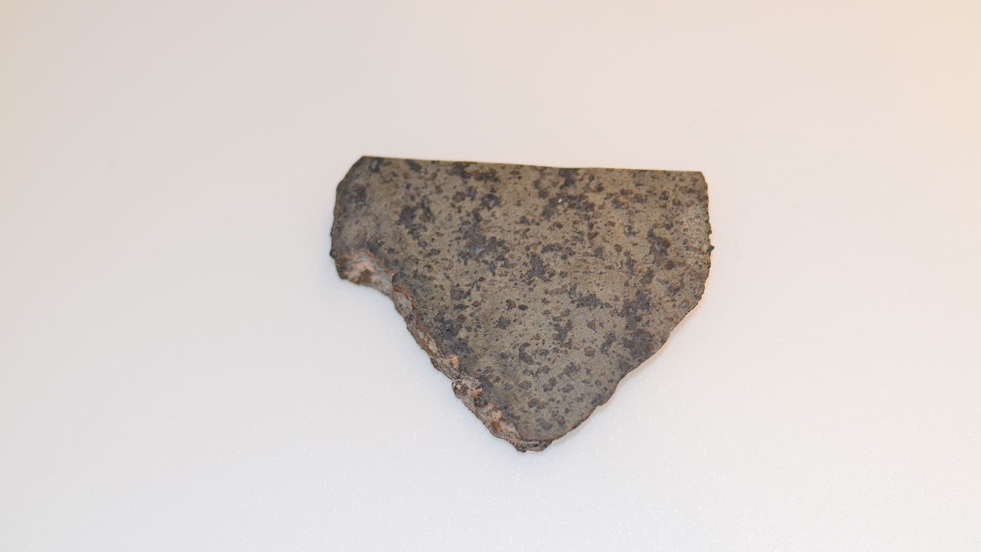 close up of meteorite