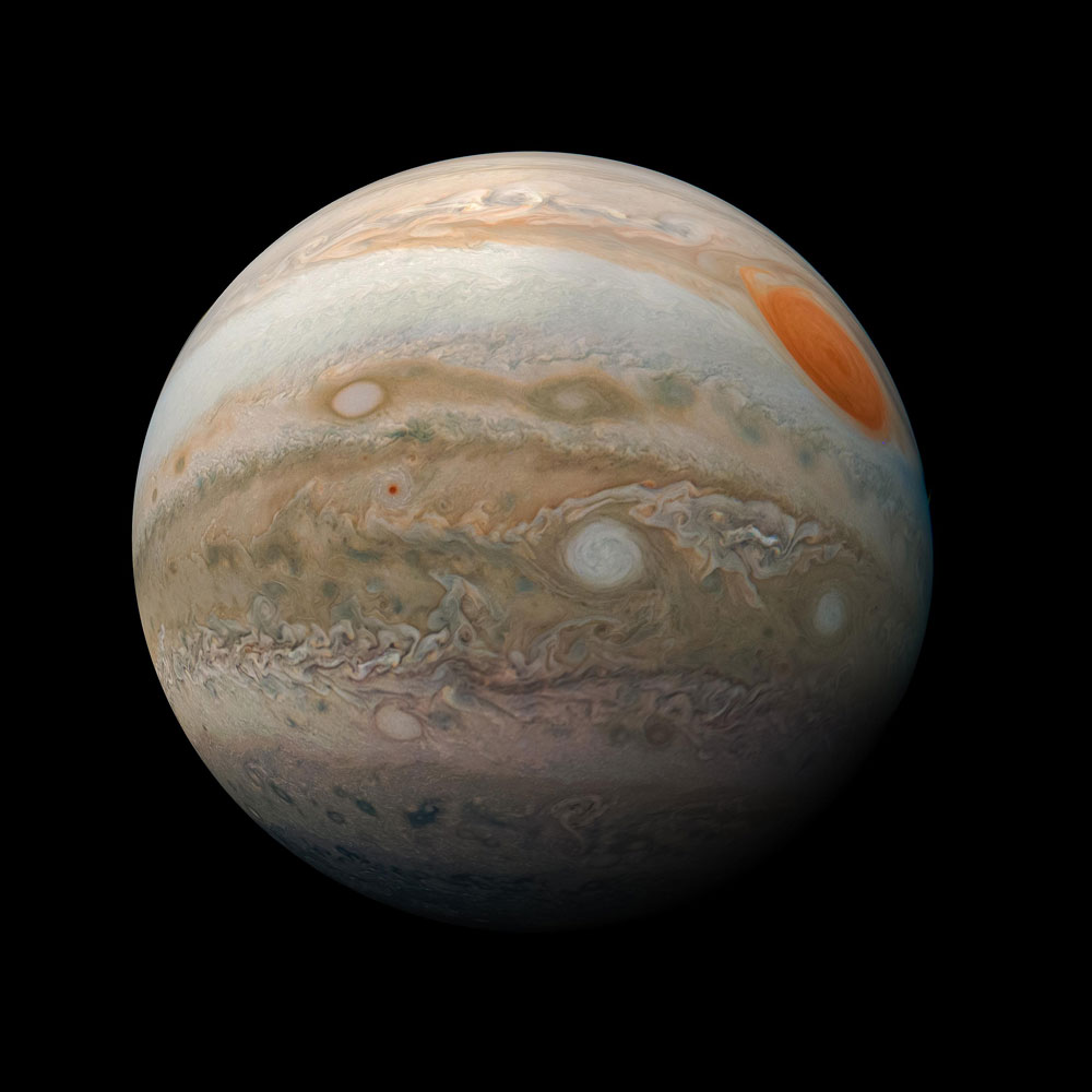 JunoCam image of Jupiter
