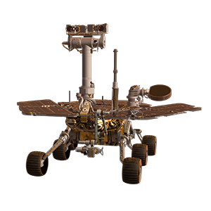 Mars Exploration Rovers cutout