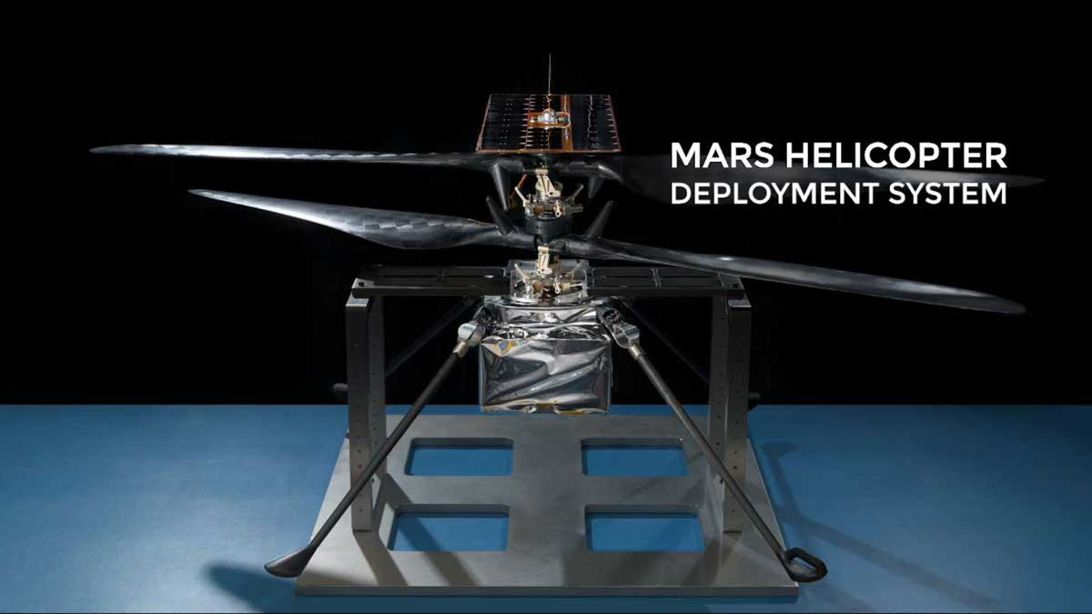 Mars Helicopter Deployment System